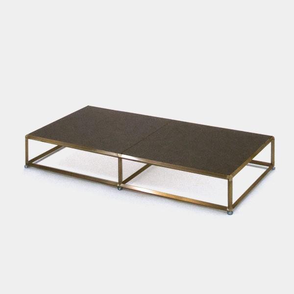ビボ古美色テーブル・ステージ VB(2x1)1200x600H150