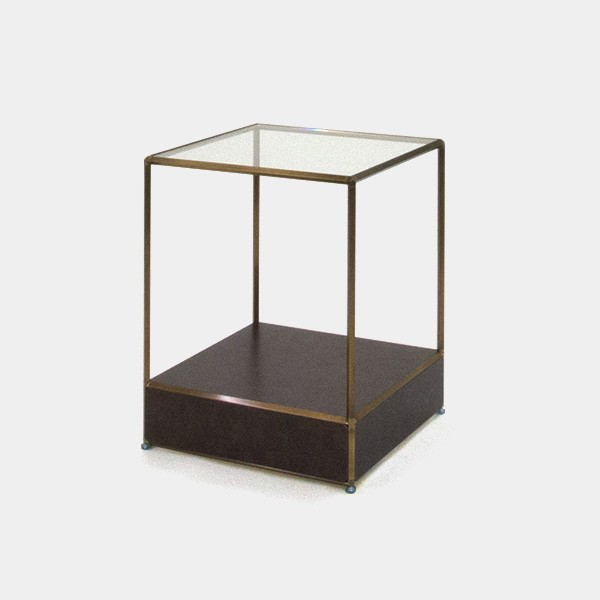 ビボ古美色ガラステーブル VB(1x2)600マスH750SG150