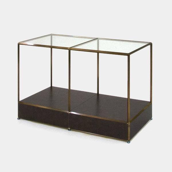 ビボ古美色ガラステーブル VB(2x2)1200x600H750SG150