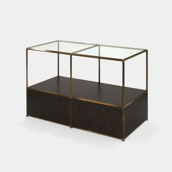 ビボ古美色ガラステーブル VB(2x2)1200x600H750SG300