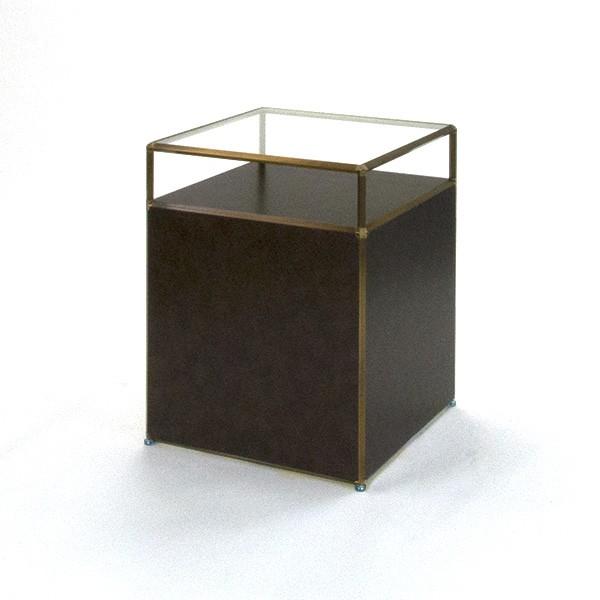 ビボ古美色ガラステーブル VB(1x2)600マスH750SG600