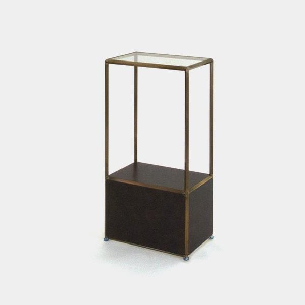 ビボ古美色ガラステーブル VB(1x2)450x300H900SG300