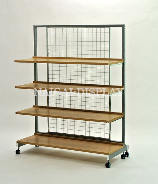 システム什器 1200 棚板セット(バックネット)