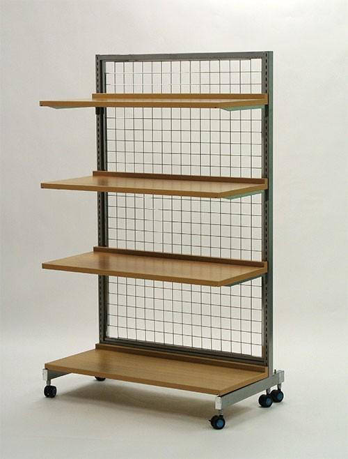 システム什器 900 棚板セット(バックネット)