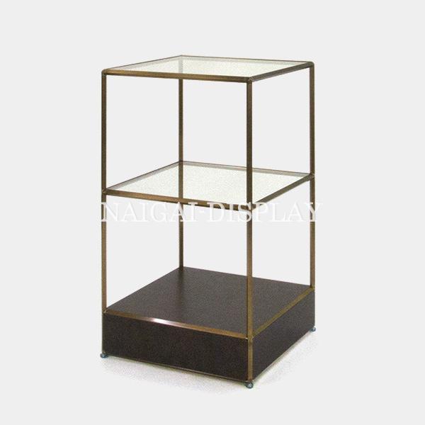 ビボ古美色ガラステーブル VB(1x3)600マスH1050SG150