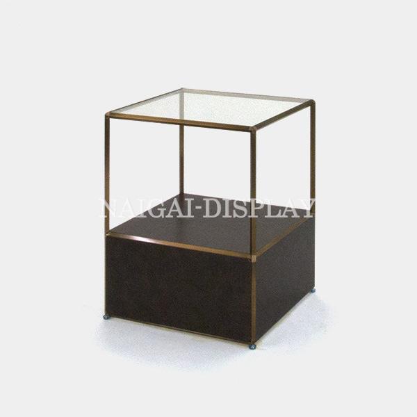 ビボ古美色ガラステーブル VB(1x2)600マスH750SG300