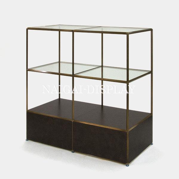 ビボ古美色ガラステーブル VB(2x3)1200x600H1200SG300