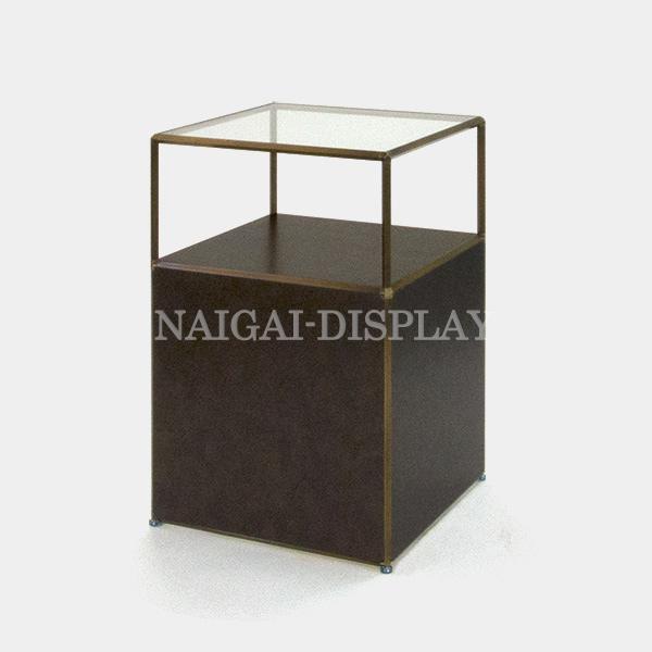 ビボ古美色ガラステーブル VB(1x2)600マスH900SG600