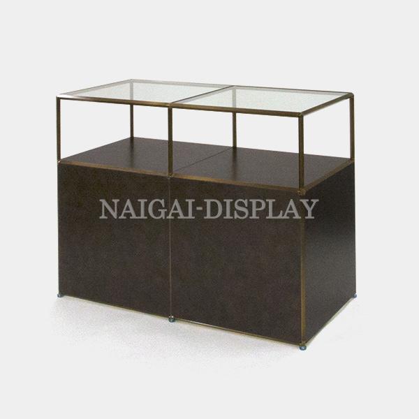 ビボ古美色ガラステーブル VB(2x2)1200x600H900SG600