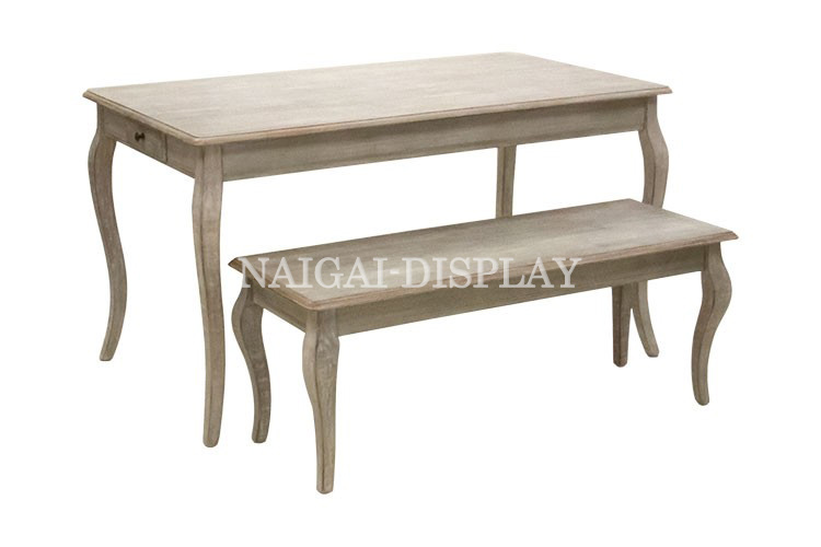 アンティークテーブル(大小セット)