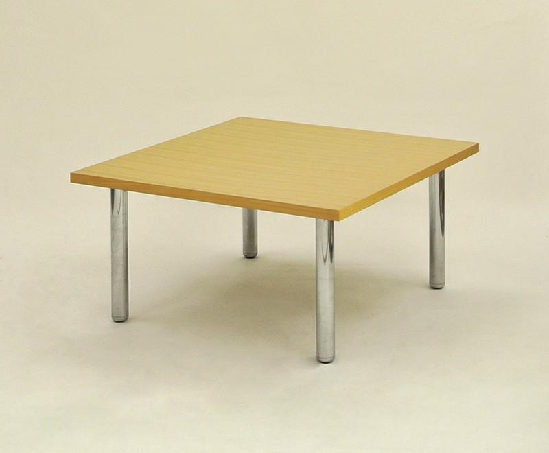 ディスプレイテーブル(木目) 900×900