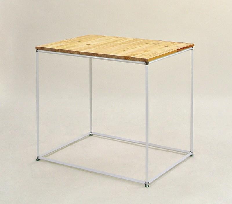 ビボサイコロテーブル(白パイプ)