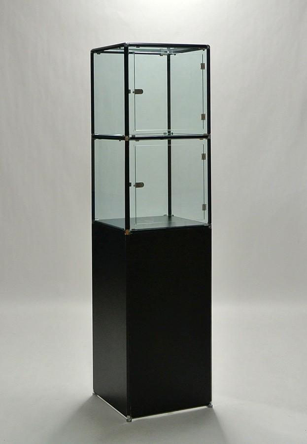 アクリルケース2段(ブラック)HIGH