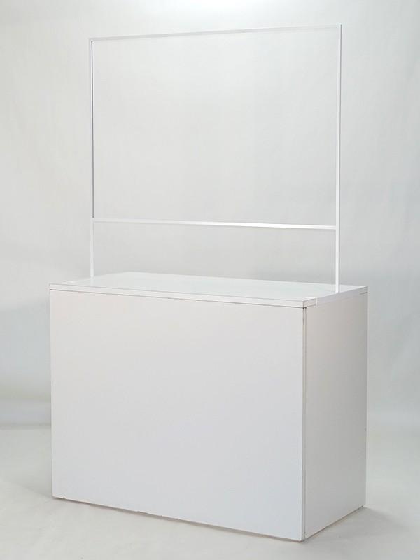 飛沫防止 対面クリアパネル1200